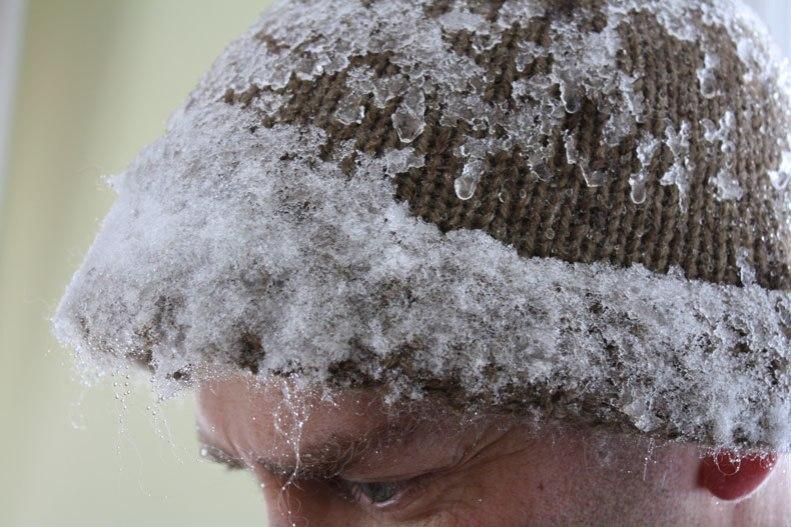 snow-shoveller