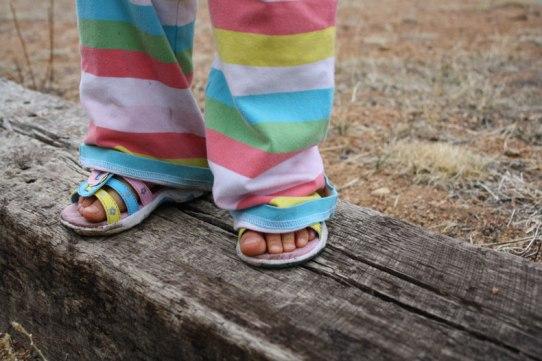 P's-feet