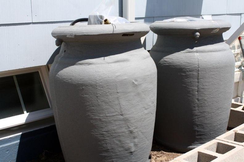 rain-barrels