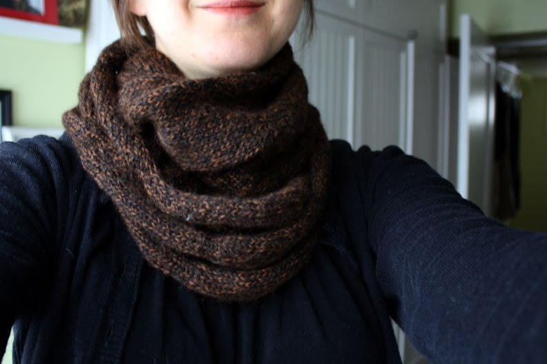 cowl-wrapped